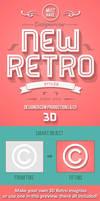 New Retro 3D Creator by designercow