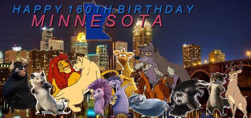 Happy 160th Birthday, Minnesota by KodyBoy555