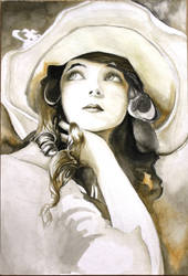 Girl from 1920s by gamufruit