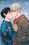 Winter kiss by RealDandy