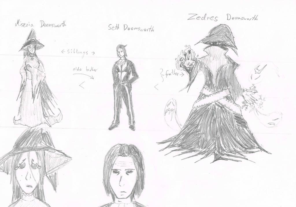 Family Doomsworth 1 by RikThunder