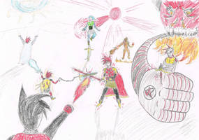 Battle of Riks by RikThunder
