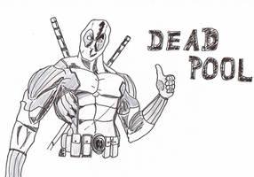 Deadpool by RikThunder