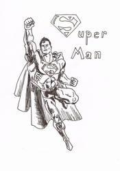 Superman by RikThunder