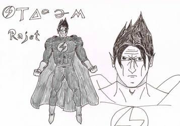 Rajet, Dark  Emperor of Zenturion by RikThunder