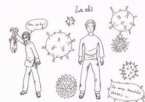 Lachi, lovable viral host by RikThunder