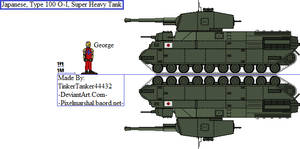 (HIST) Japanese, Type 100 O-I, Super Heavy Tank by TinkerTanker44432