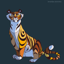 Tiger ID by amandas-sketches