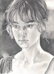 Keira Knightley by lyvvie