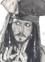 Captain Jack Sparrow by lyvvie