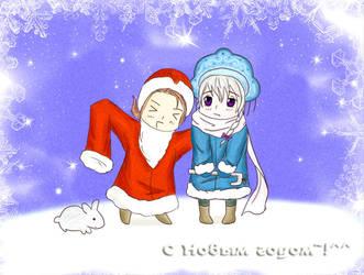 chibi churo: happy new year 1 by SeigiRyuzakii