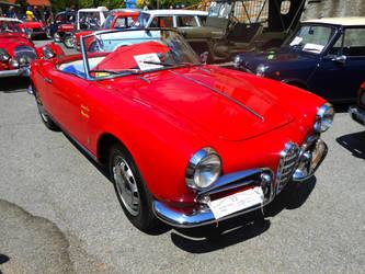 1956 Alfa Romeo Giulietta spider by GladiatorRomanus