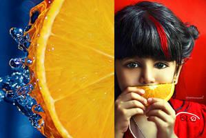 Love orange by New-Afnan