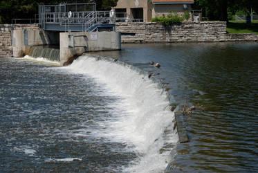 McHenry Dam by Grandparob112