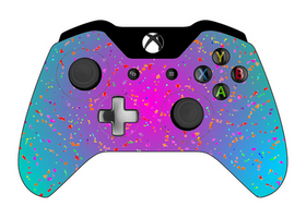 Xbox Controller Flower Fall by ty7711