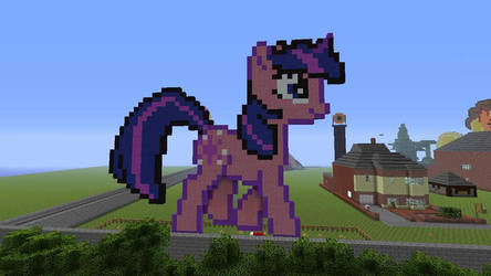 Twilight Sparkle Made In Minecraft by ty7711