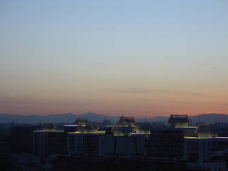 Dusk in Beijing by JangMunho