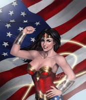 Wonder Woman by a76106558