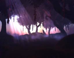 Forbidden Forest by Nocra