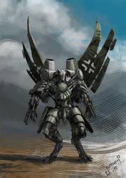 Transformers Starscream WW2 Me-262 by Jutami