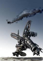 Transformers Skywarp WW2 FW 190 by Jutami