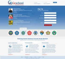 Geschool Website Login menu by badmister