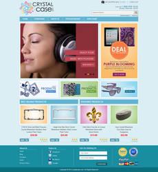Crystalcase website by badmister