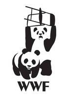 WWF Pandas Stencil by Murat-Nautilus