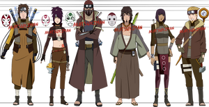 Ishigakure High Ranked Shinobi by Akatsukiman