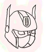 optimus prime head by x9000