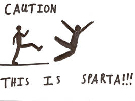 Caution.... THIS IS SPARTA by x9000
