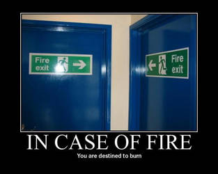 in case of fire by x9000