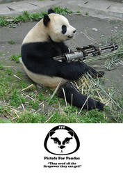 guns for pandas by x9000