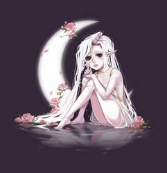 Moongirl by LeSpork