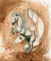 Pegasus by LarimarDragon