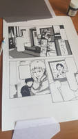 Comic Practice - Reference From Tokyo Ghoul by Freksama