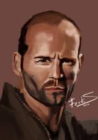 Jason Statham by Freksama