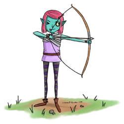 Gwen the Goblin by Freksama