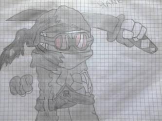 madness combat : hank j.wimbleton by Dark-Dragon-Knight1