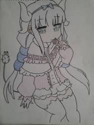 maid dragon : kanna by Dark-Dragon-Knight1
