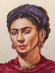 Frida Kahlo by lirrit