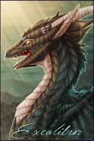 Badge Comish - Excalibur by TwilightSaint