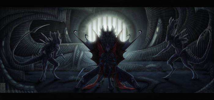Comish - My Dark Cathedral by TwilightSaint