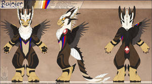 Personal - Rainier Fursuit Reference by TwilightSaint