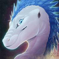 Icon Comish - Gleaming Scales by TwilightSaint