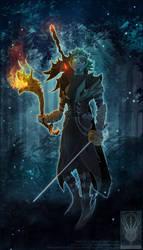 Flats Comish - Midnight Warrior by TwilightSaint