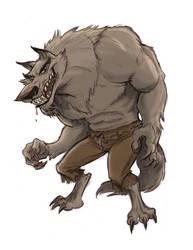 Werewolf by tombancroft