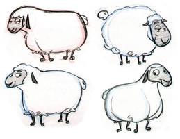 Sheep Designs by tombancroft