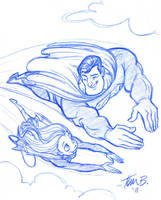 Training Day_original sketch by tombancroft