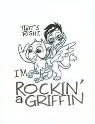 Rockin a Griffin_Inks_pt1 by tombancroft